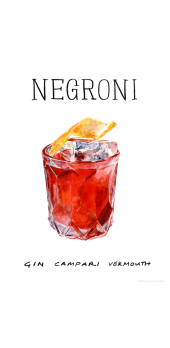 cover NEGRONI style