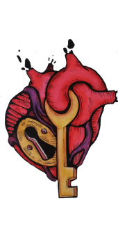 cover key of the heart