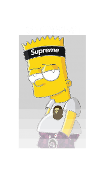 cover Bart Simpson hype