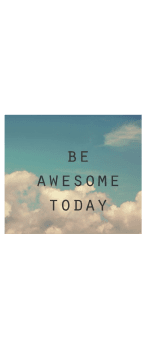 cover Be awesome today
