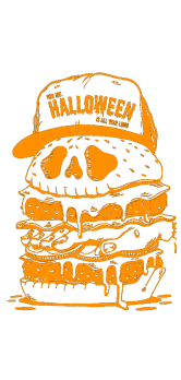 cover Halloween Burger