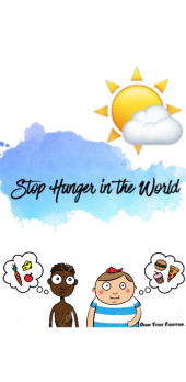 cover stop hunger in the world