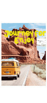 cover journey/enjoy/travel/happy