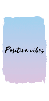 cover Positive Vibes Cover