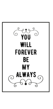 cover YOU'RE MY ALWAYS