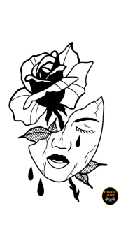cover MASK AND ROSE