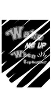 cover Greenday - Wake me up when september rain