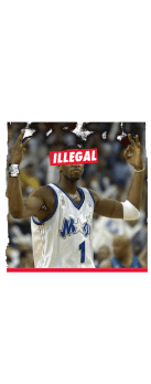 cover ILLEGAL - TRACY MCGRADY
