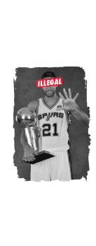 cover ILLEGAL - TIM DUNCAN