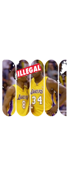 cover ILLEGAL - KOBE & SHAQ