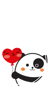 cover Panda love cute animal
