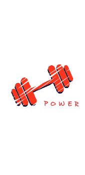 cover Gym Power workout motivation weights
