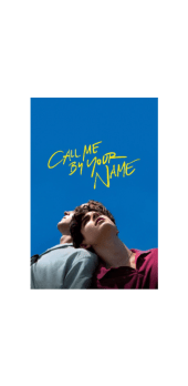 cover CALL ME BY YOUR NAME