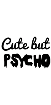 cover CUTE BUT PSYCHO