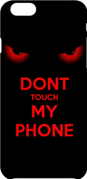 cover Don't touch my phone