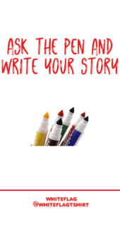 cover ask the pen and write your story