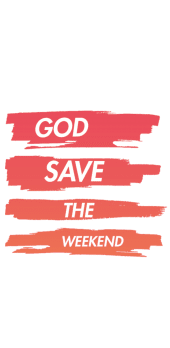 cover God save the weekend