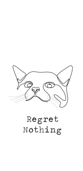 cover cat/noregret