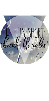 cover Life is short