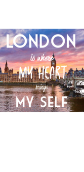 cover London is where my heart brings my self