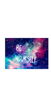 cover felpa be yourself