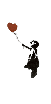 cover banksy red balloon