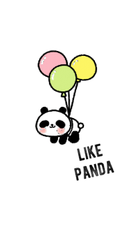 cover t-shirt ragazza panda