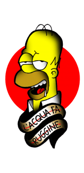 cover Homer Simpson II