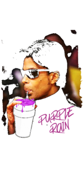 cover purple rain sweater