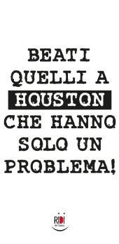 cover Houston abbiamo un problema