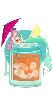 cover Mermaid cocktail
