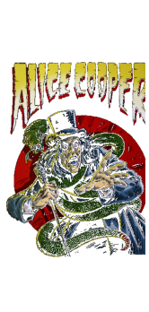 cover Alice Cooper comic book