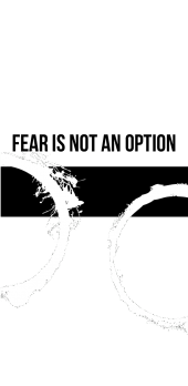 "cover ""Fear is not an option"" COVER"