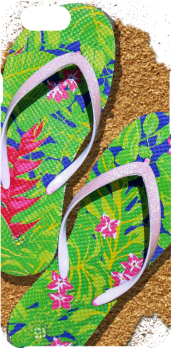 cover Flip-Flops on the Sand