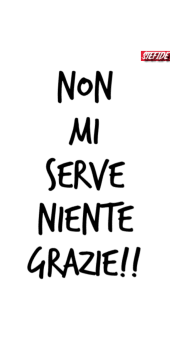 cover Non mi serve