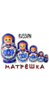 cover RUSSIAN MATRIOSHKA