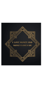 cover I love money and money loves me t-shirt