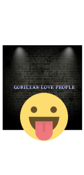 cover gorillas love people t-shirt