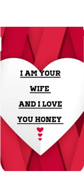 cover I am your wife and I love you honey cell, phone, covers,