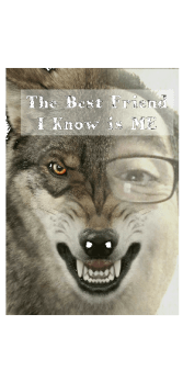 cover the best friend I know is me t-shirt
