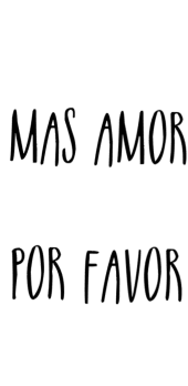 cover Mas amor Por favor