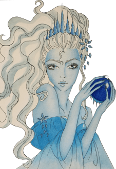 maglietta Snow queen