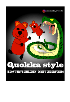 maglietta Quokka style - I don't have children , I can't understand