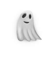maglietta happy ghost