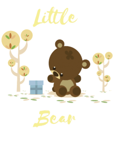 maglietta Little Bear