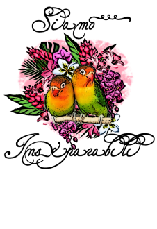 maglietta Love Bird