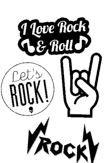 maglietta Rock'n'roll shirt
