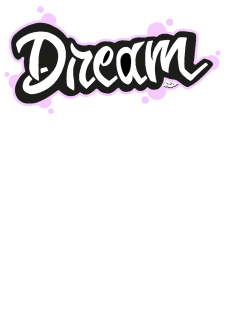 maglietta dream color pink t-shirt