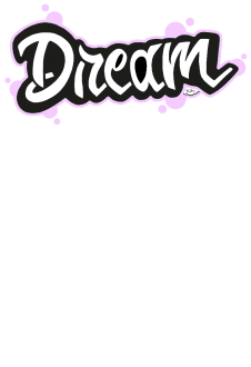maglietta dream color pink t-shirt white