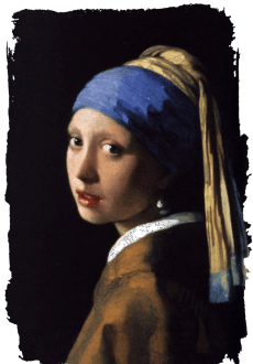 maglietta Girl With a Pearl Earring